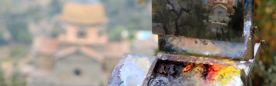 Cortona – oil painting 2