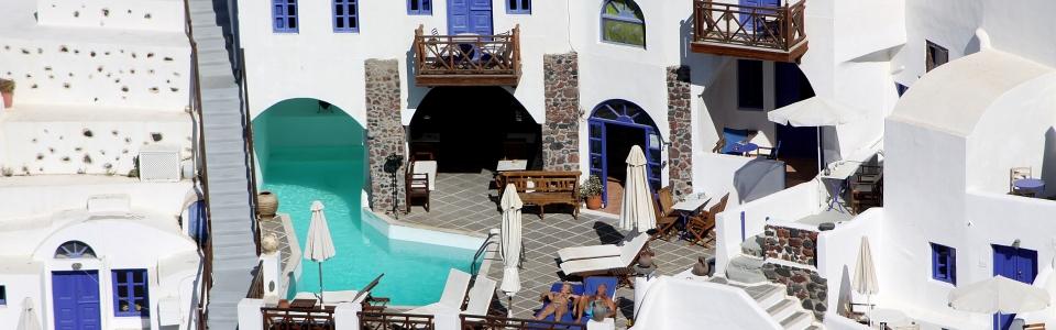 Santorini Sun Bathers