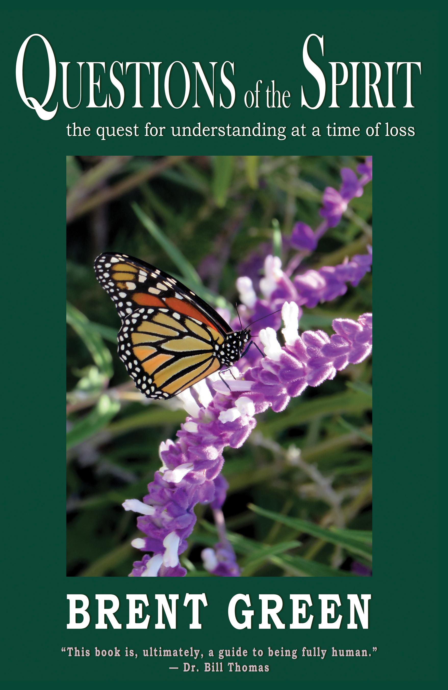 Questions of the Spirit; The Quest for Understanding at a Time of Loss, Brent Green, loss, grief, bereavement